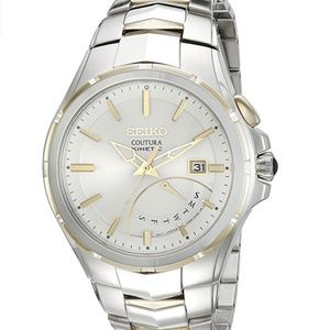 Seiko Men's Coutura Two-Tone Stainless Steel Watch